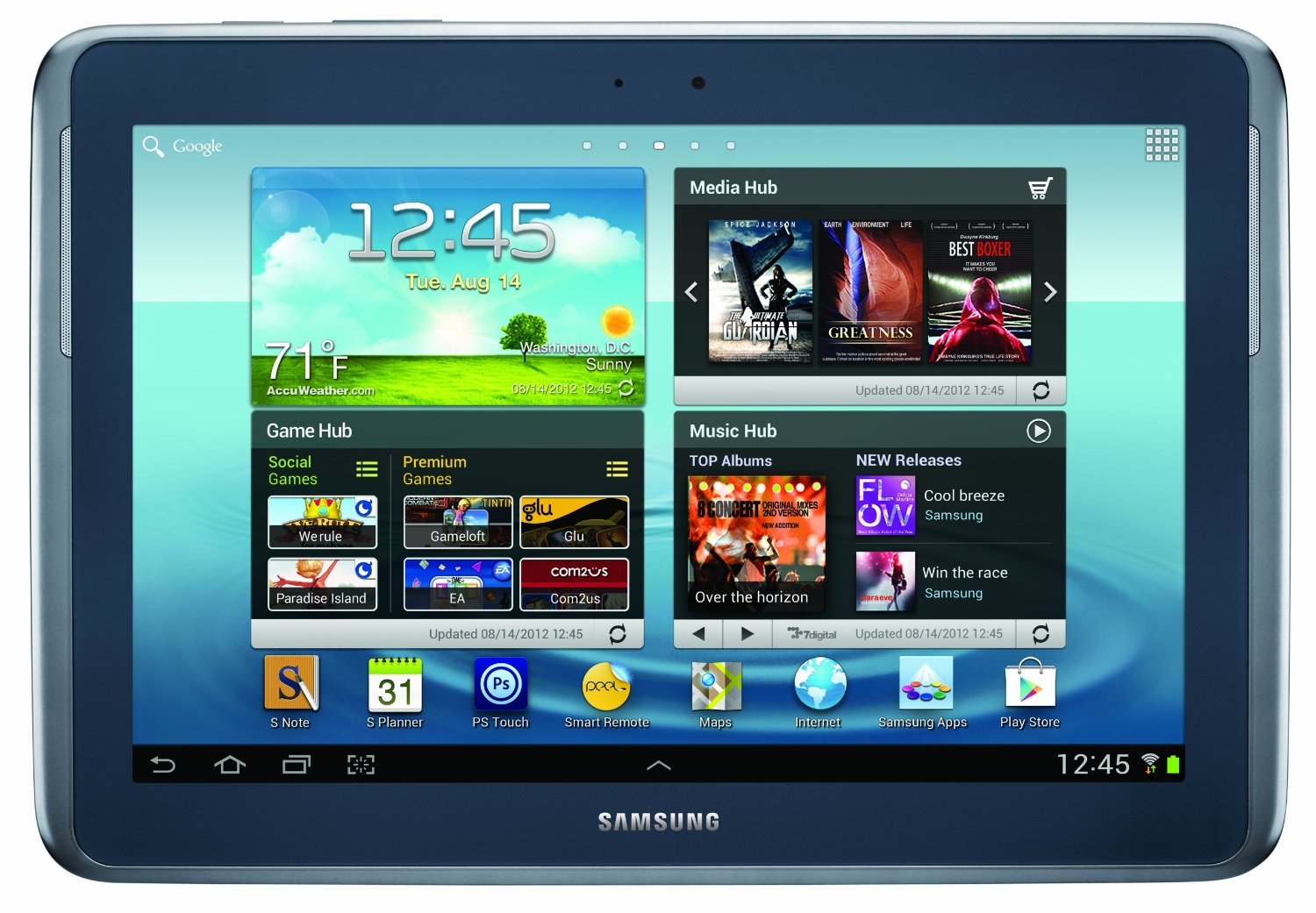 samsung galaxy note tablet