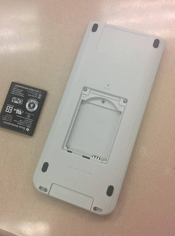 ti-nspire cx new battery